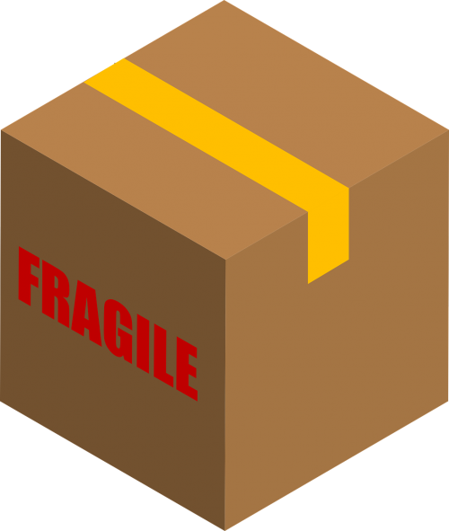 carton box fragile