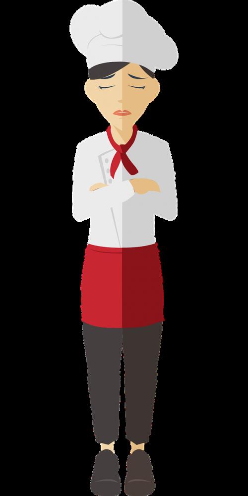 cartoon chef comic