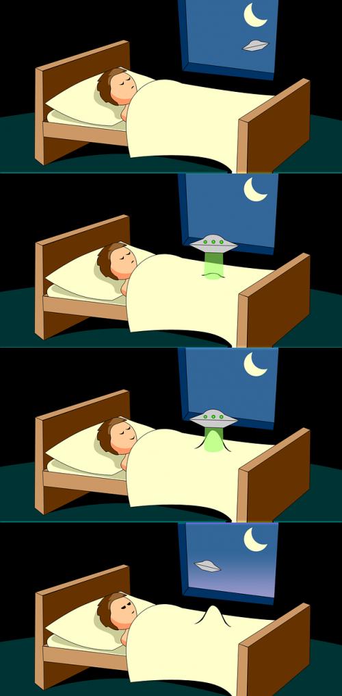 cartoon sleep night