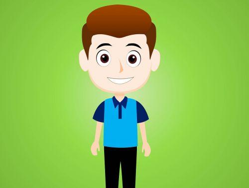 cartoon character cartoon boy character cartoon