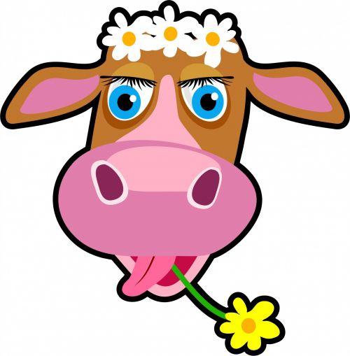 Cartoon Cow Clipart