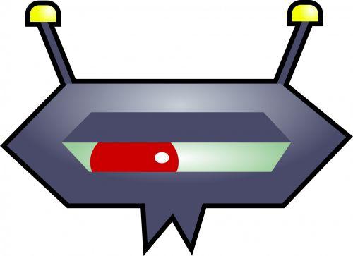 Cartoon Germ Virus