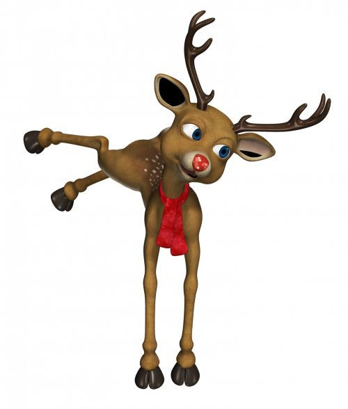 Cartoon Reindeer Clipart