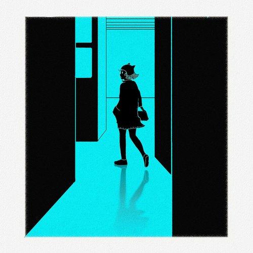 cartoons  girls  walking