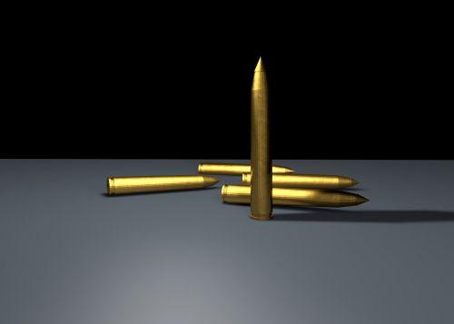 cartridges ammunition brass
