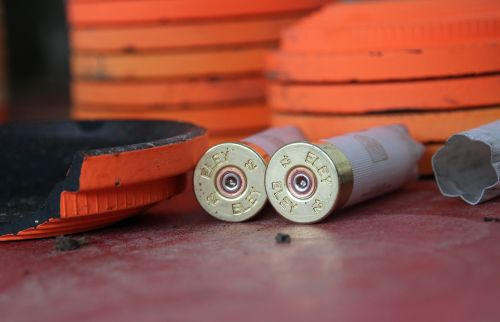 cartridges shooting clay