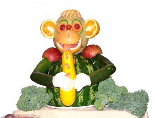 Carved Beasts Oboe Monkey