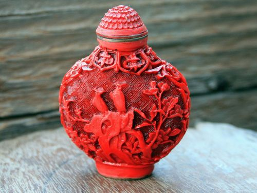 Carved Oriental Ornament