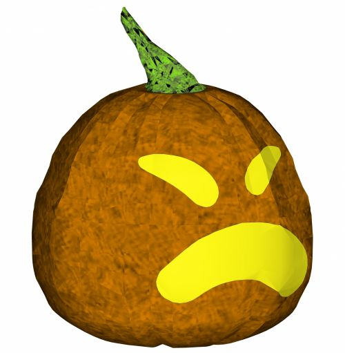 Carved Pumpkin 2
