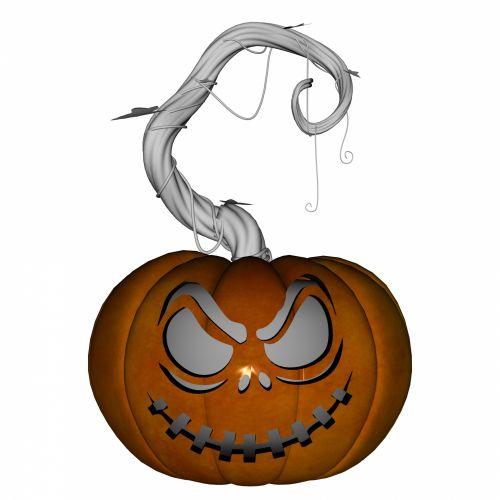 Carved Pumpkin 3