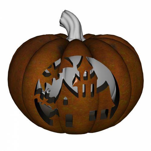 Carved Pumpkin 4