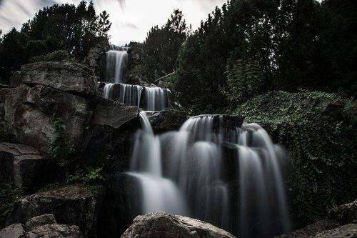 cascada  water  nature