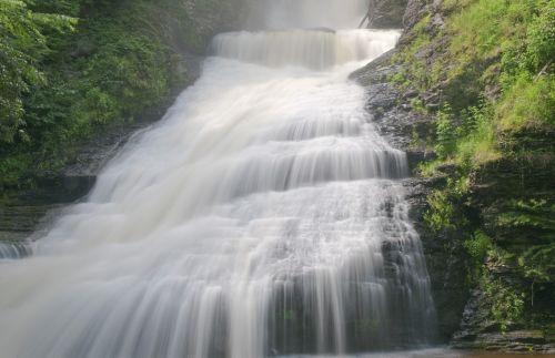 cascade waterfall water