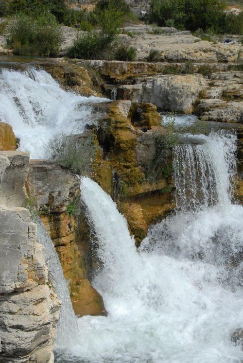 cascade water nature