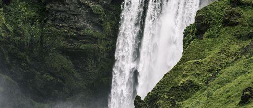 cascade daylight fall
