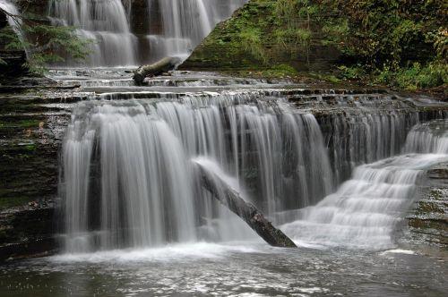 cascade waterfall river