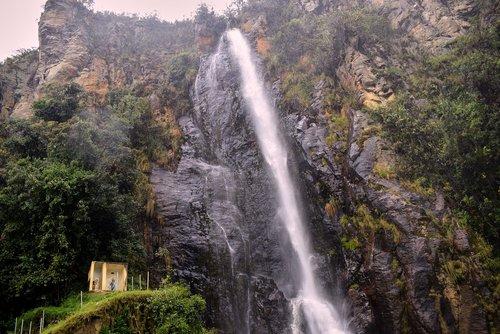 cascade  water  landscape