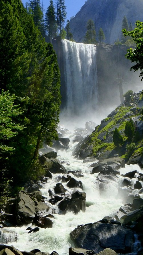 cascade  water  america