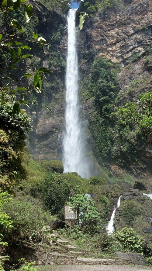 cascades landscapes water