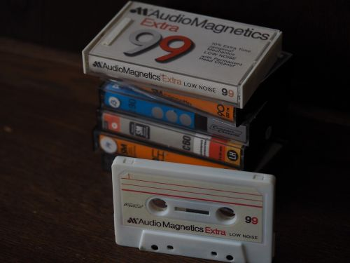 casette compact casette cassette
