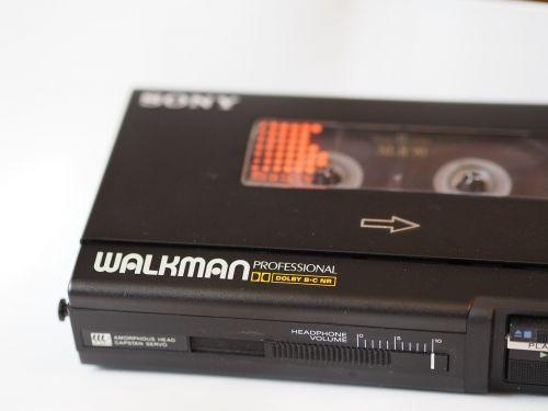 casette compact casette walkman