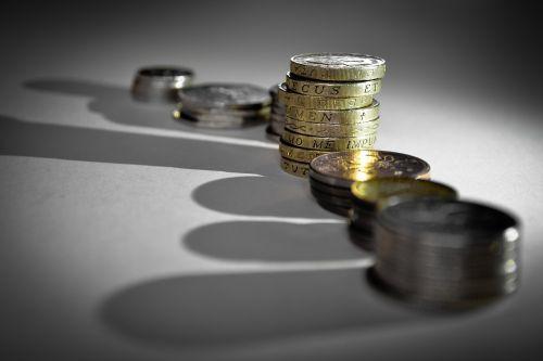 cash coins pounds