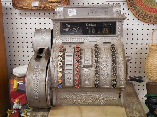 cash register retail