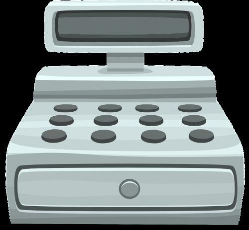 cash register register retail
