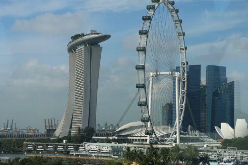 singapore city marina bay sands