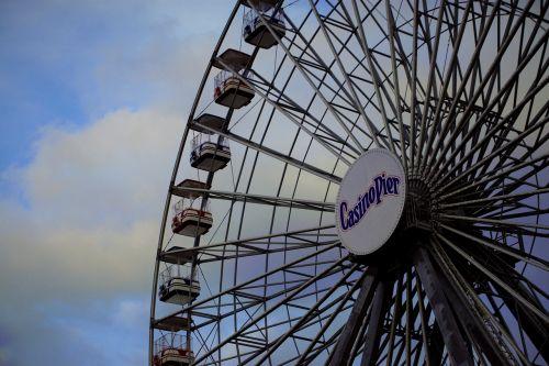 casino pier ferris wheel seaside