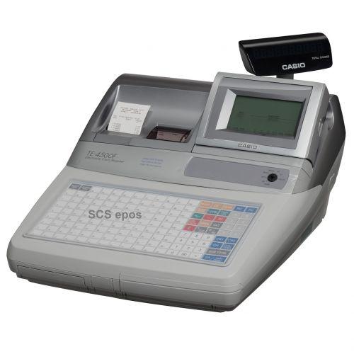 casio te4500 cash register