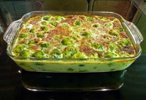 casserole brussels sprouts casserole baking dish
