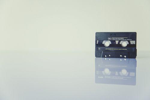 cassette recording sound