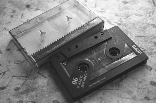 cassette audio magnetband