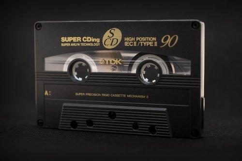cassette  tape  band