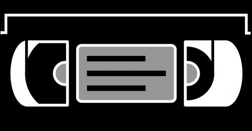 kasetė,vhs,filmas,video,vcr,retro,vaizdo įrašas,80s,vaizdo kasetė,televizija,nemokama vektorinė grafika