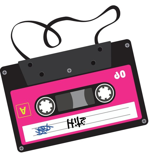 cassette  record  graphics