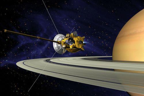 cassini saturn orbit insertion