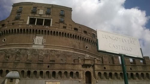 castel sant'angelo rome tiber