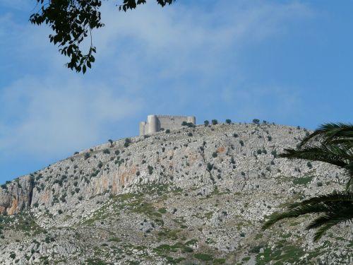 castell del montgrí castle building