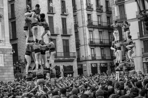 castellets barcelona spain