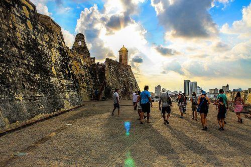 castillo san felipe de barajas people colombia