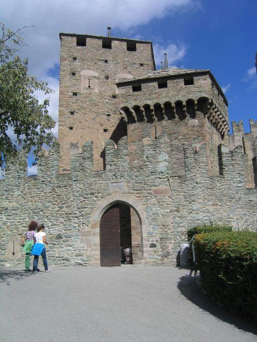 castle val d'aosta castles