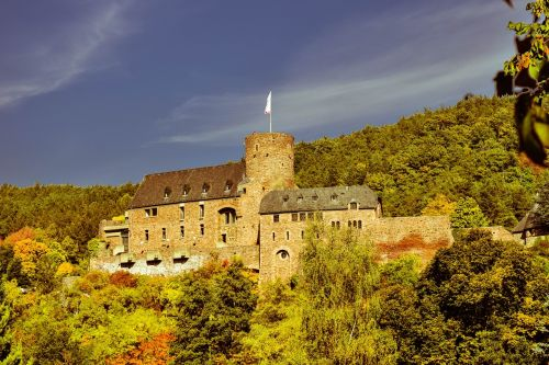 castle wall middle ages