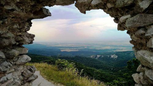 castle views window