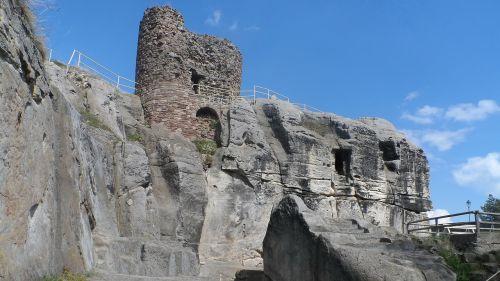 pilis,urvas,Regenstein,blankenburg in harz,derva,rajonas wernigerode