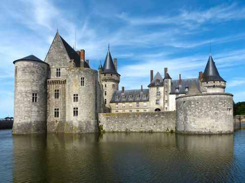 castle sully loire