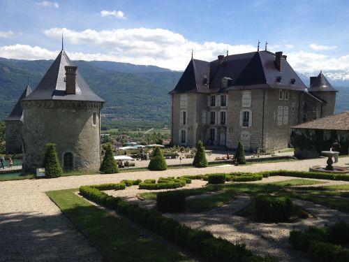 castle touvet isère