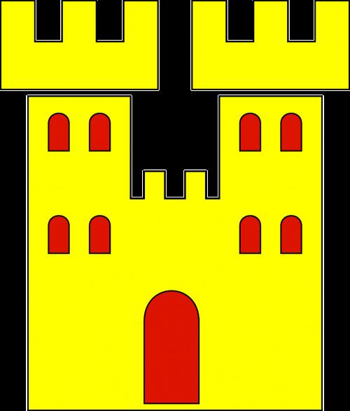 castle heraldic heraldry