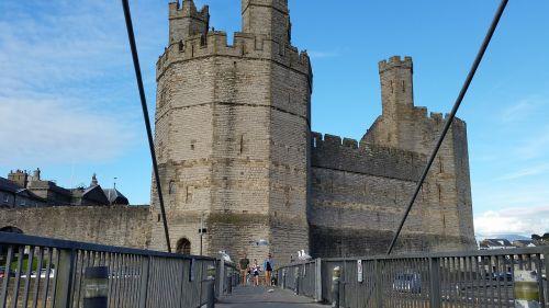 castle caernarfon wales